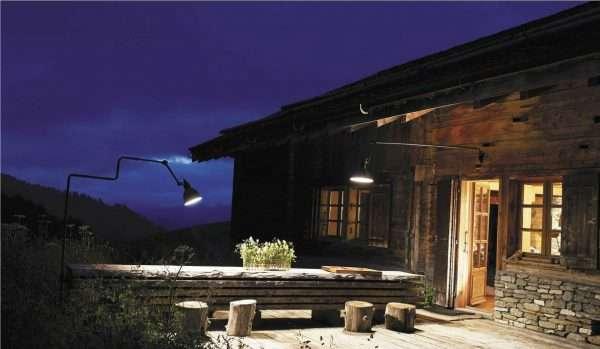 Lampe Gras 217 XL outdoors in situ