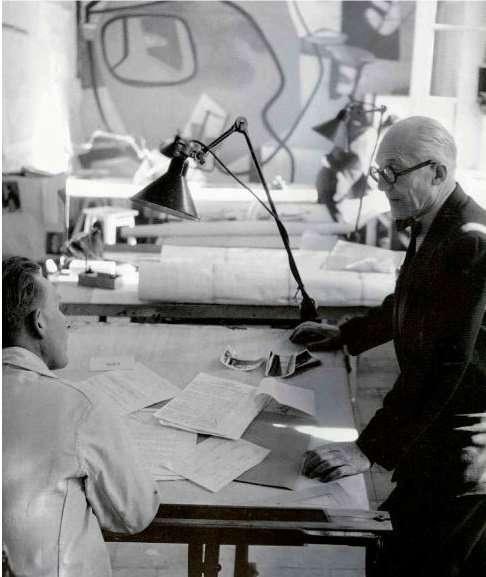 Le Corbusier and Lampe Gras
