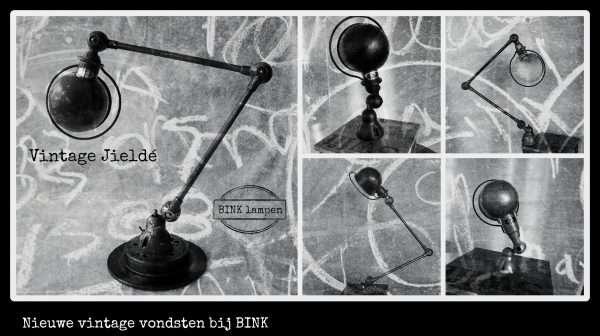 Vintage Jieldé lampen