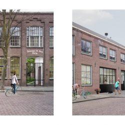 Hanglampen van BINK in Project Woonfabriek te Leiden