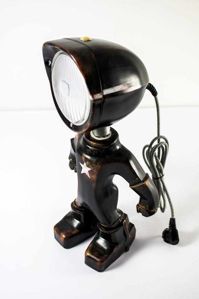 Zwarte army lampster