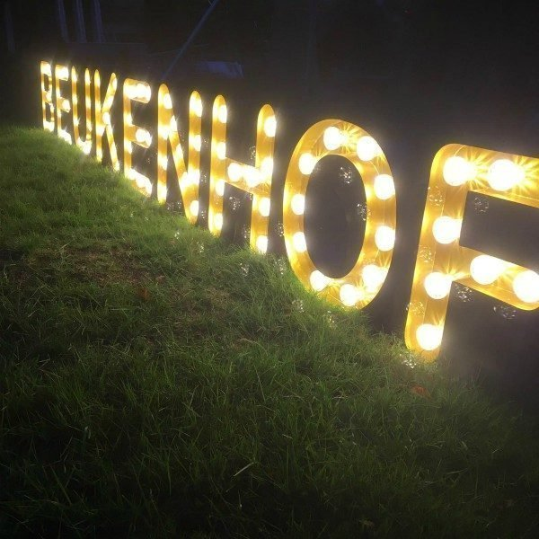 letterlampen bakletters signing restaurant project