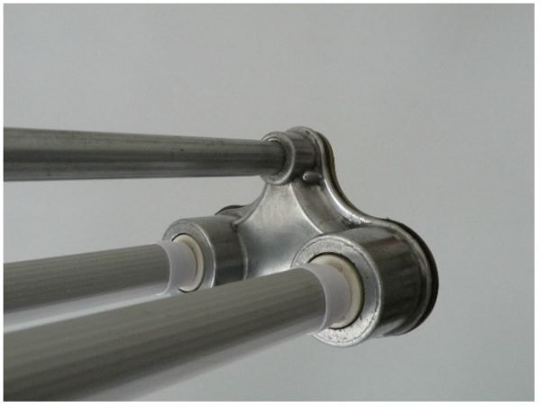 TL LED balk industriele hanglamp detail 1