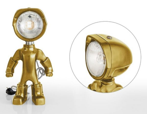 The Lampster Original goud