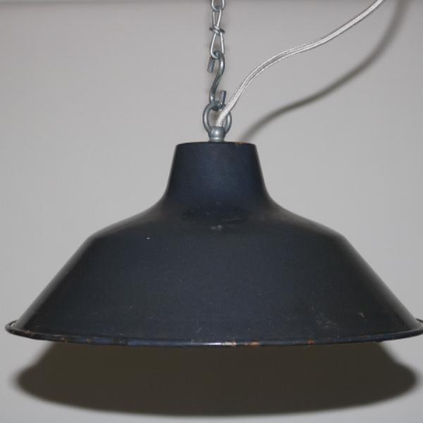 blauw geemailleerde hanglamp 02