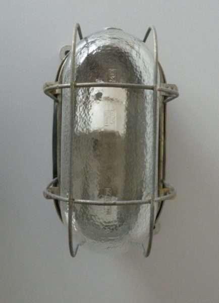 bunkerlamp aluminium front