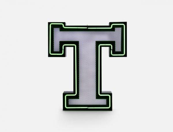 delightfull letterlamp t