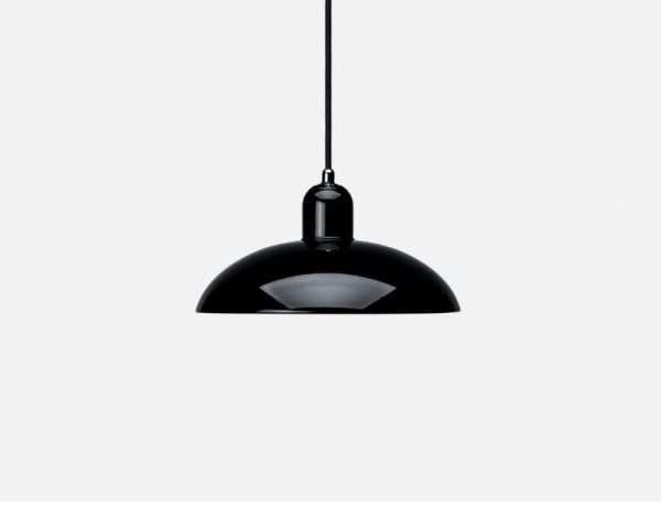 kaiser idell hanglamp zwart bink lampen. Black Bedroom Furniture Sets. Home Design Ideas