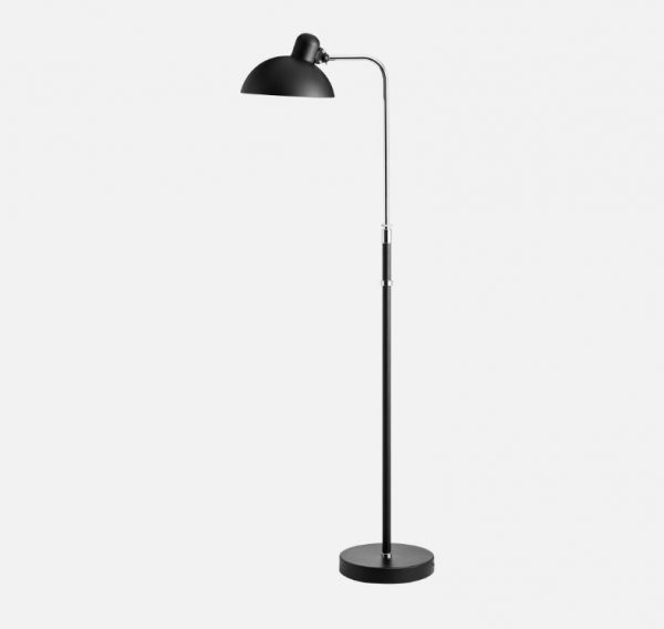 kaiser idell vloerlamp mat zwart bink lampen. Black Bedroom Furniture Sets. Home Design Ideas