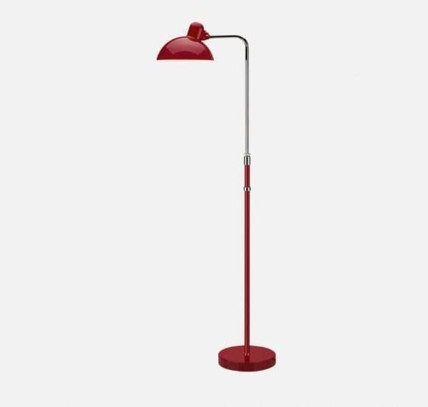 kaiser idell vloerlamp rood bink lampen. Black Bedroom Furniture Sets. Home Design Ideas