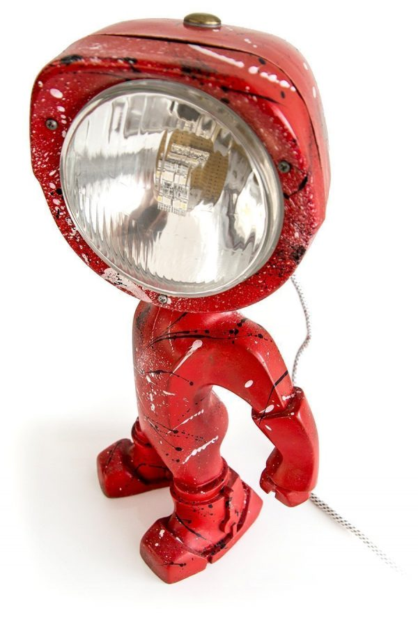 The Lampster Artsy Red