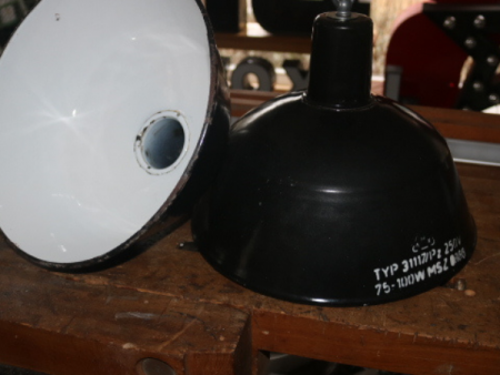 zwart emaille hanglamp 02