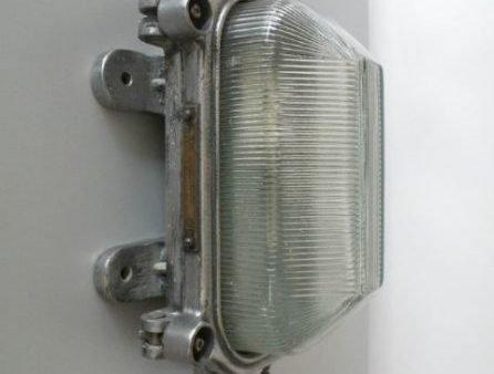 Aluminium bunkerlamp 1