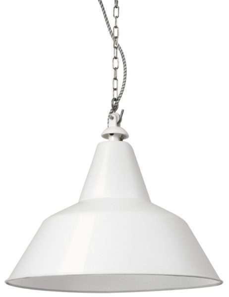 Bielefeld hanglamp wit groot