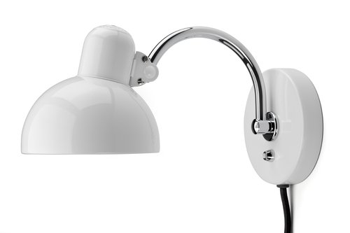 kaiser idell kleine wandlamp bauhaus wit bink lampen. Black Bedroom Furniture Sets. Home Design Ideas