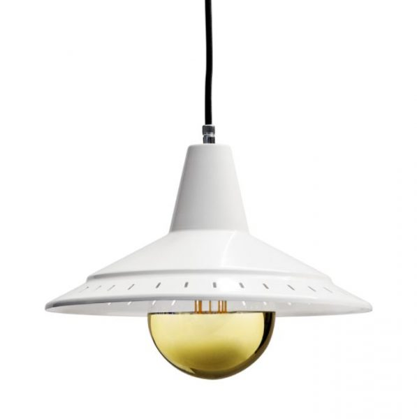 De modernist Anvia retro hanglamp BINK lampen wit