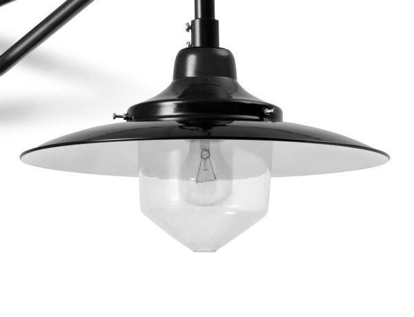 Hannover stolp wandlamp detail