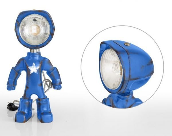 The Lampster army blauw