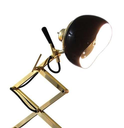 billy tafel lamp detail
