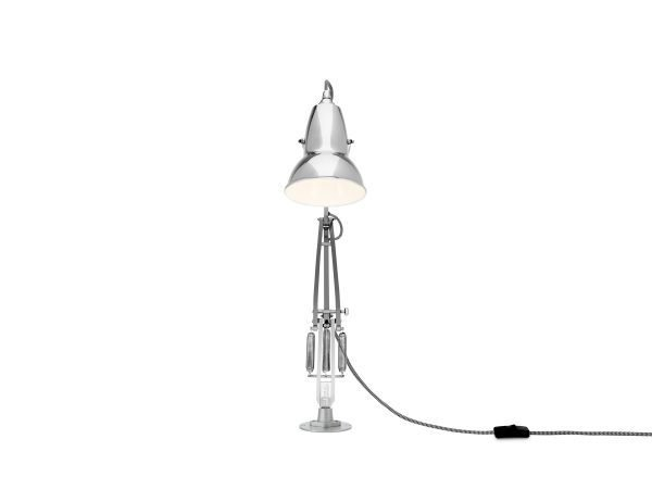 Original 1227 bureaulamp chroom met vaste voet 4