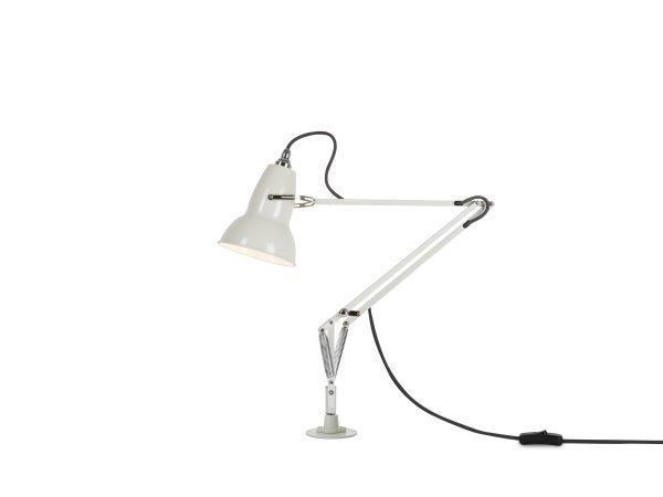 Original 1227 bureaulamp wit met vaste voet 1