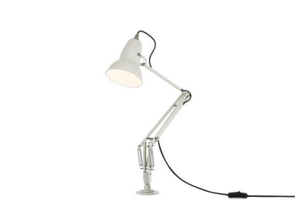 Original 1227 bureaulamp wit met vaste voet 3