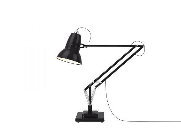Original 1227 Giant Floor Lamp Jet Black 1 (Gloss)