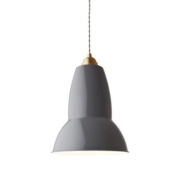 Original 1227 Messing Anglepoise XL Hanglamp - Elephant Grey 4