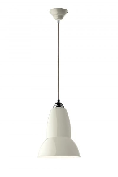 Original 1227 Midi Pendant -Alpine White w BW Cable 1Original 1227 Medium hanglamp anglepoise BINK lampen Linen White