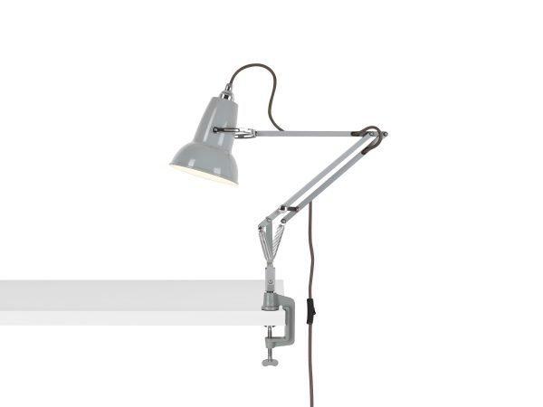 Original 1227 Mini bureau klemlamp Dove Grey 1