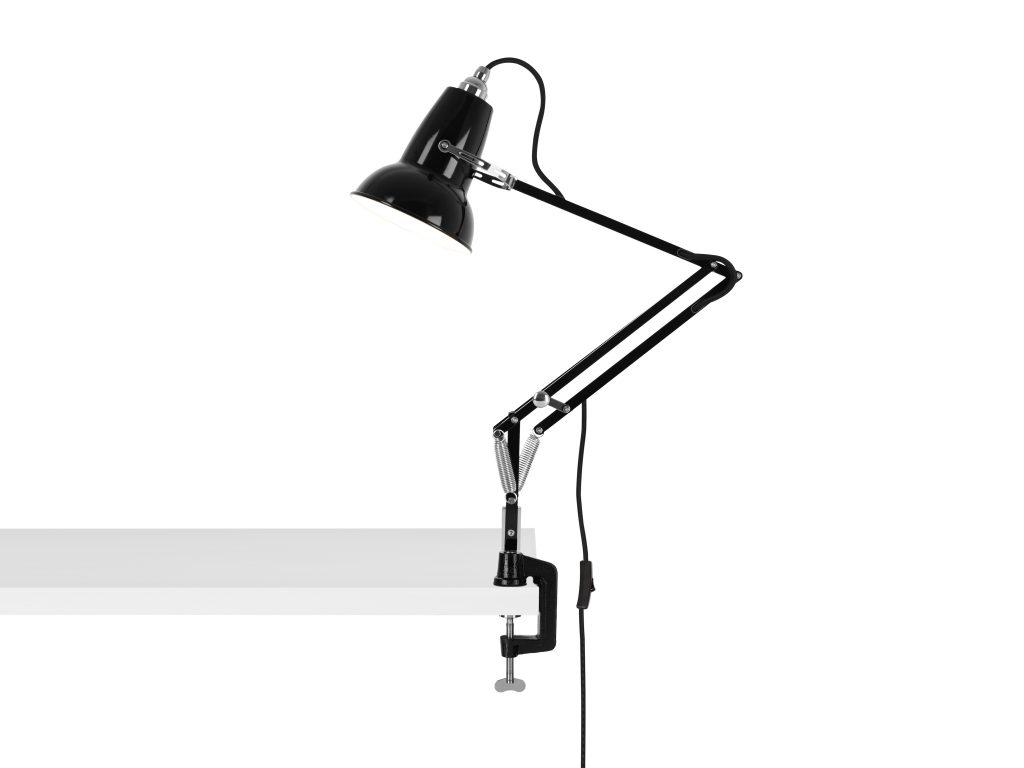 Original 1227 Mini bureau klemlamp Jet Black 2