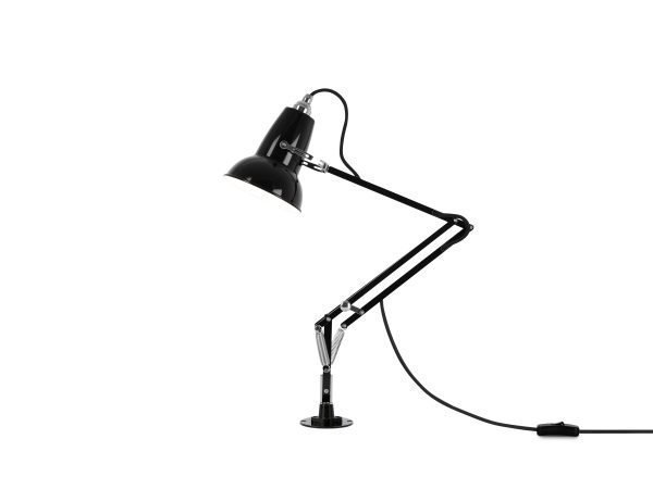 Original 1227 Mini bureau lamp met vaste bevestiging Jet Black 2 Insert