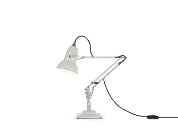 Original 1227 Mini bureaulamp Linen White 1 BINK