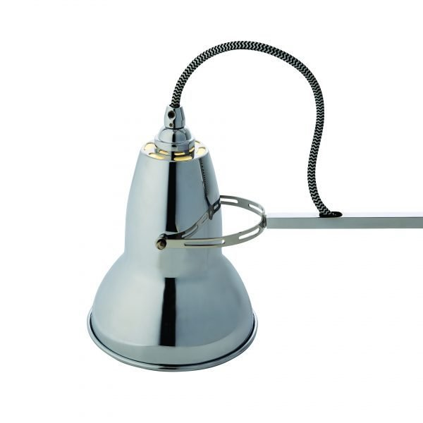 Original 1227 muur Lamp Bright Chrome w BW Cable 6