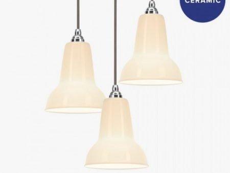 Original ceramic anglepoise hanglampen BINK lampen 1
