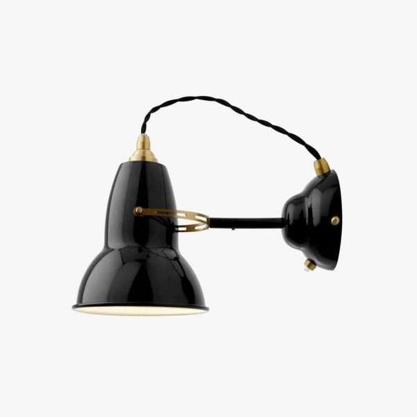 original 1227 brass anglepoise wandlamp 1
