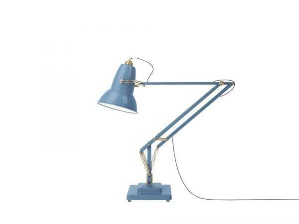 Original-1227-koperen anglepoise-Giant-vloerlamp Dusty Blue 1