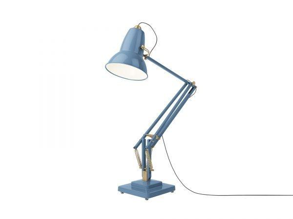 Original-1227-koperen anglepoise-Giant-vloerlamp Dusty Blue 3