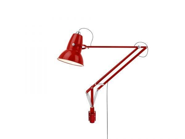 Original 1227 Giant Wall Mounted Lamp Crimson Red 1