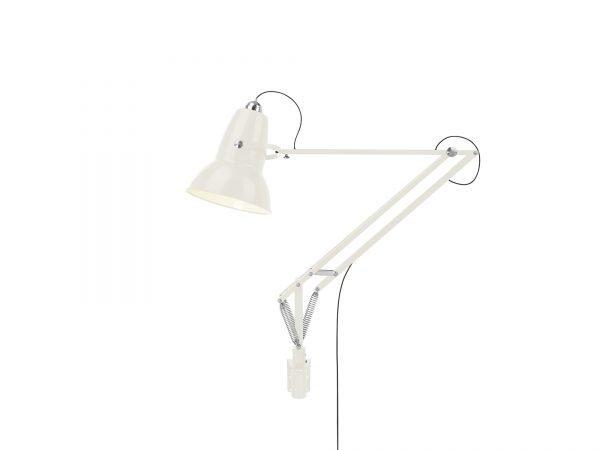 Original 1227 Giant Wall Mounted Lamp Linen White 1 (Gloss)
