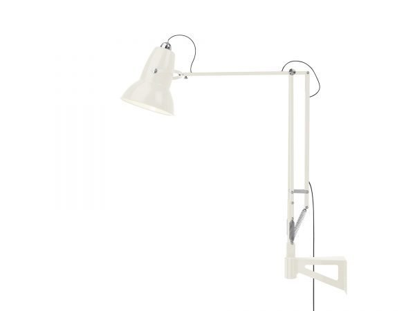Original 1227 Giant Wall Mounted Lamp Linen White 4 (Gloss)