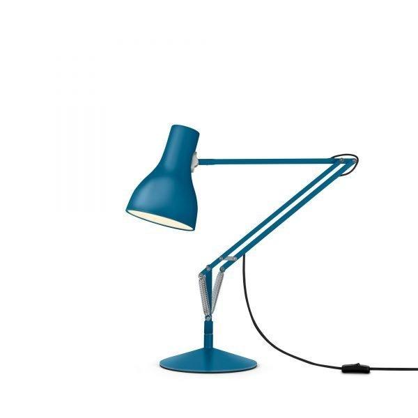 Anglepoise type 75 Desk Lamp - Saxon Blue 2