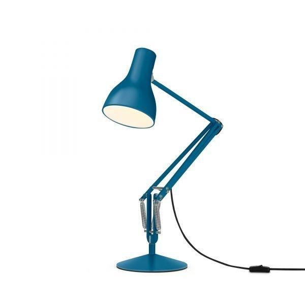Anglepoise type 75 Desk Lamp - Saxon Blue 3