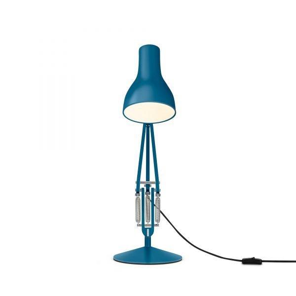 Anglepoise type 75 Desk Lamp - Saxon Blue 4