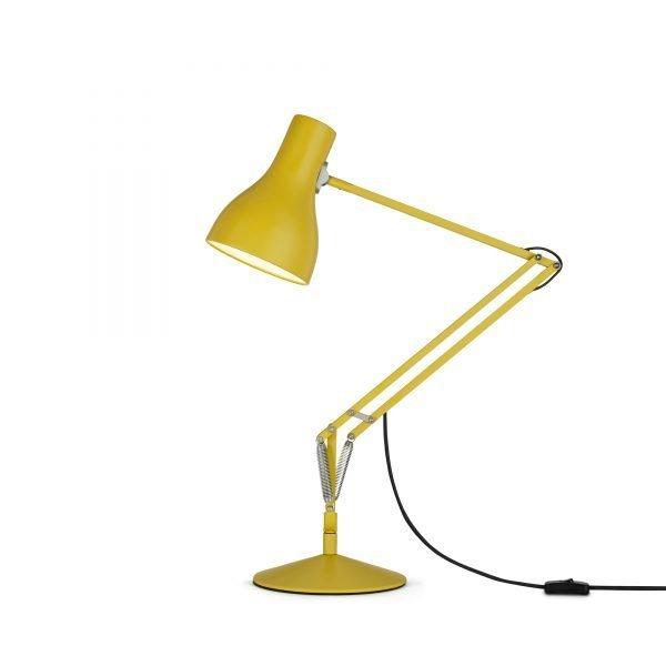 Anglepoise type 75 Desk Lamp - Yellow Ochre 1
