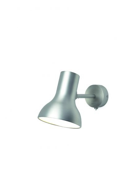 Anglepoise type 75 Mini Wandlamp Silver Lustre 2