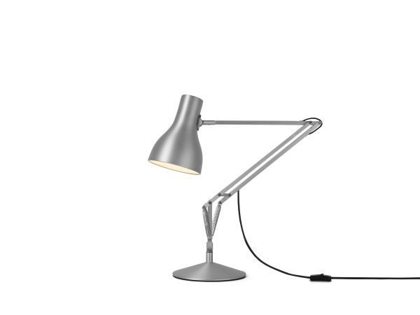 Anglepoise type 75 bureaulamp Brushed Aluminium 1