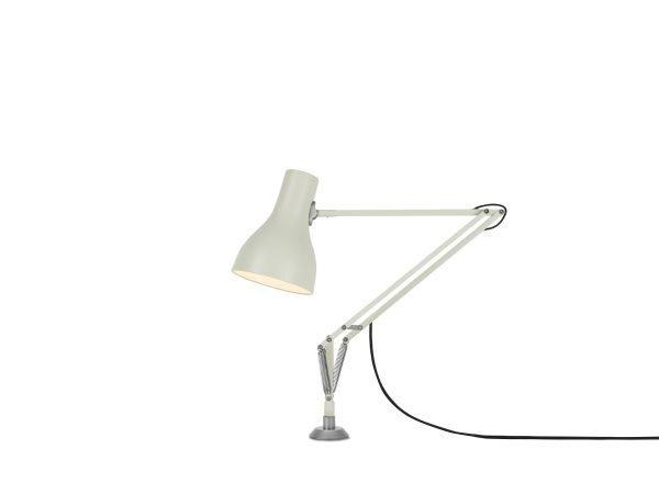 Anglepoise type 75 bureaulamp vaste bevestiging Jasmine White 1