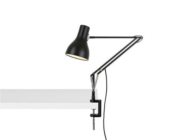 Anglepoise type 75 klemlamp bureaulamp Jet Black 1