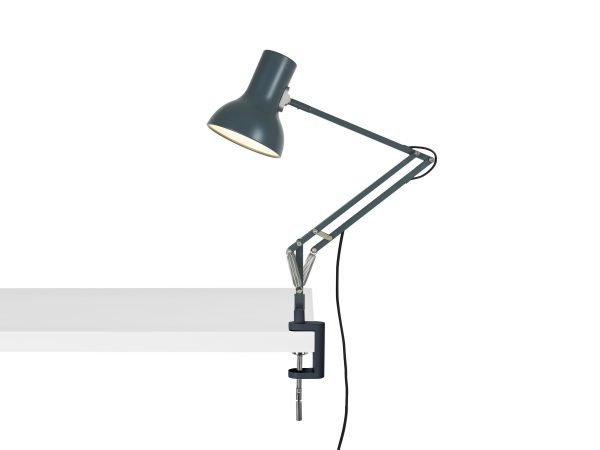 Anglepoise type 75 mini klemlamp Slate Grey 2